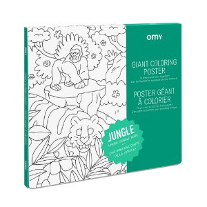 Giant Coloring Poster - Jungle