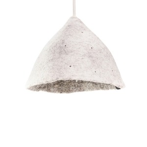 Reversible lampshade S Light Stone/Natural