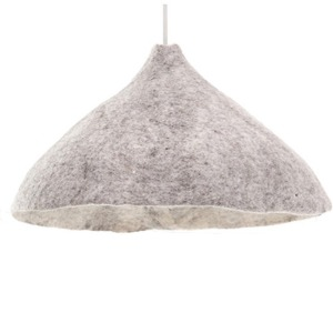 Reversible Lampshade W Light Stone/Natural