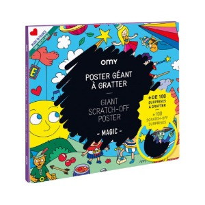 Giant Scratch-Off Poster Magic