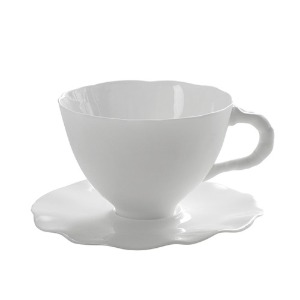 Coffee Cup And Saucer L Perfect Imperfection