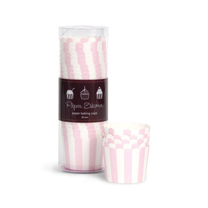 Baking Cup Marshmallow Pink