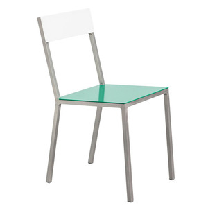 Alu Chair Green/White