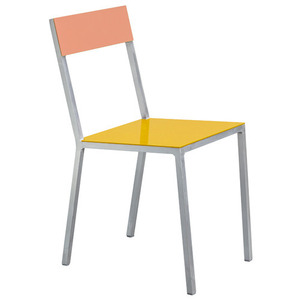 Alu Chair Yellow/Pink
